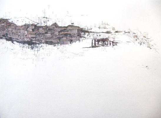 Wucherung, Collage, 42 x 29,5 cm, 2017