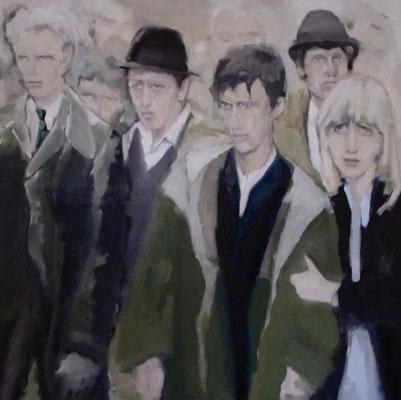 Das Andere, 100 x 100 cm, Öl auf LW, 2017