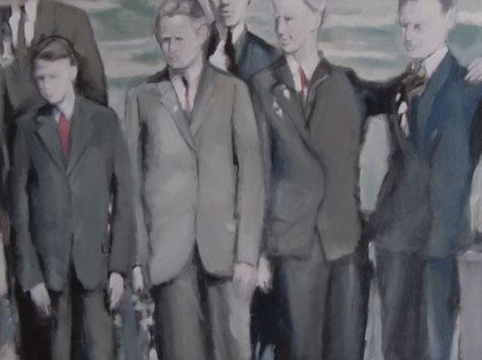 Cherchez la femme, Öl auf LW, 2014, 80 x 60 cm
