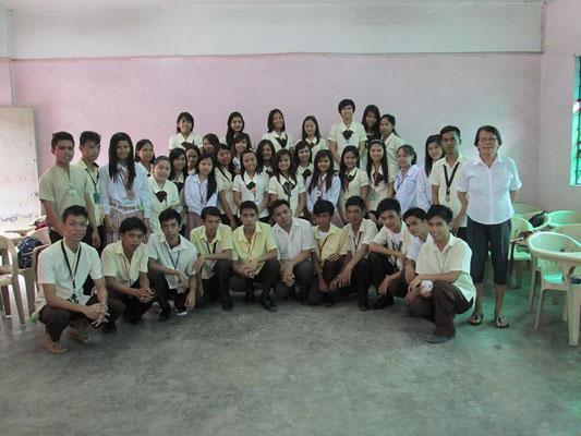 Dieses Bild zeigt alle Stipendiaten im November 2013.