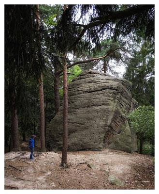 am Einsiedlerstein (III)