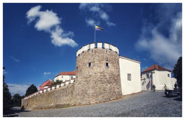 Reste der Stadtmauer am ehemaligen Putimer Tor...