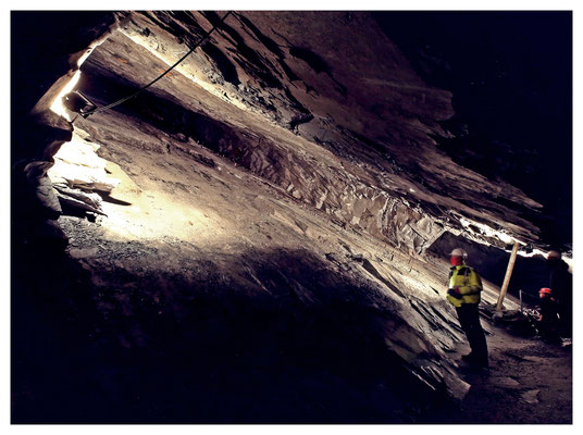 Schiefergrube Christine in Willingen am Rande des Sauerlandes