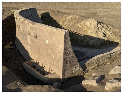 Edersee-Atlantis - Staumauermodell