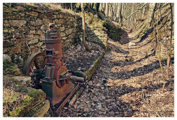 alter Kalkbruch im Erzgebirge