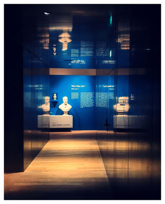 Das Vorarlberger Landesmuseum in Bregenz...