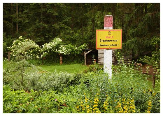 die DDR lebt weiter - an der Obermühle im Heidelbachtal