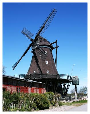 Holländerwindmühle Lemkenhafen auf Fehmarn