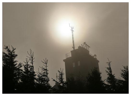 Wetterwarte auf dem Fichtelberg