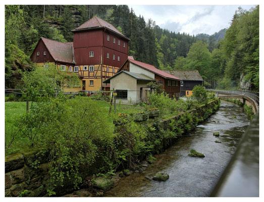 Buschmühle im Kirnitzschtal