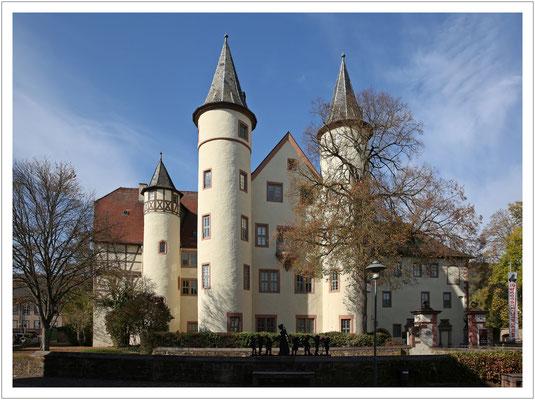 Das Schloss in Lohr am Main...