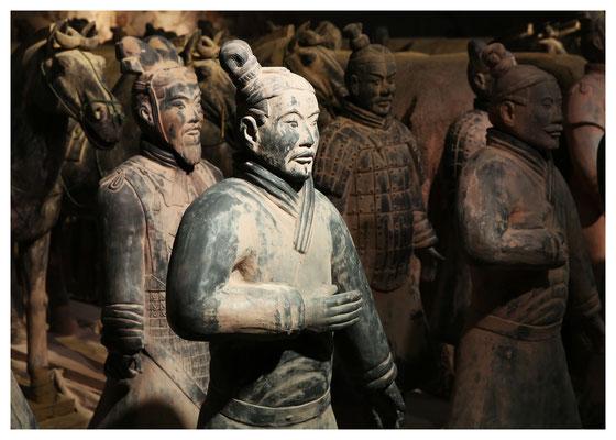 Terrakotta-Armee des Kaisers Qín Shǐhuángdì