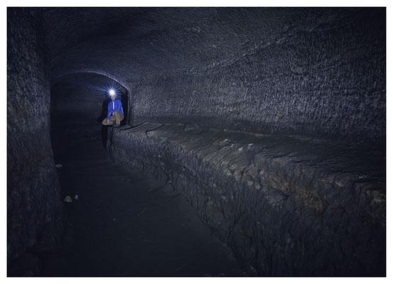 Wassertunnel einer ehem. Spiegelschleiferei in Nordböhmen