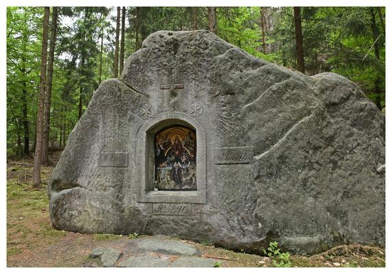Kny-Kapelle des Jüngsten Gerichts (1840) bei Dittersbach (Jetrichovice)