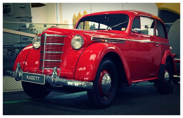 Der Ur-Ur-Ur-Ur-Ahn unseres Astras: ein Opel Kadett aus den 1930er Jahren