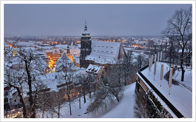 Winter in der Stadt