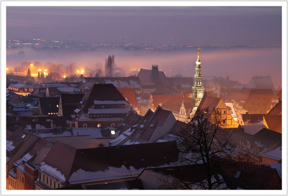 Nebel über der Stadt