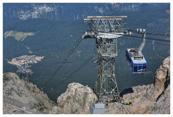 Der Berg ruft - und mit der Tiroler Zugspitzbahn gehts nach oben