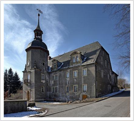 Das Schloss Naundorf soll ab 2019 saniert werden...