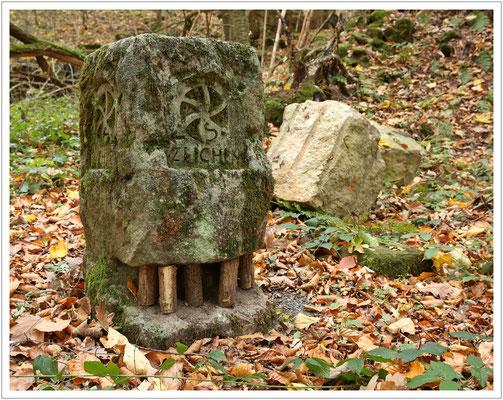 Modell des Wandfällens - ein gefährlicher Job der alten Steinbrecher