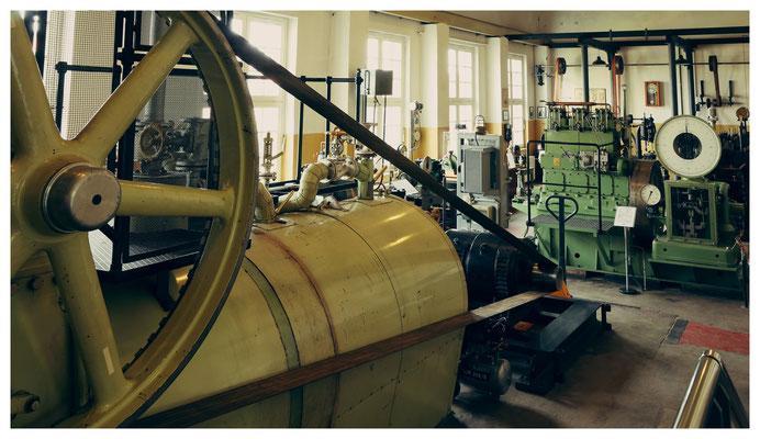 Im Kieler Maschinenmuseum...