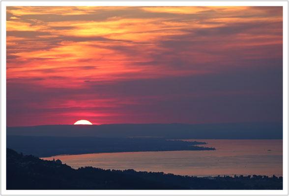 Sonnenuntergang auf dem Karren