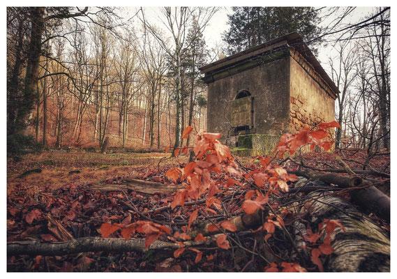 alter Festungsfriedhof der Festung Königstein (16mm, f/5,6)