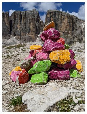 bunte Steine...im Vallon-Gebiet des Sellamassivs