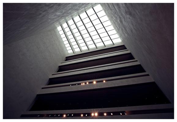 Auch architektonisch war das Museum ein Hingucker...