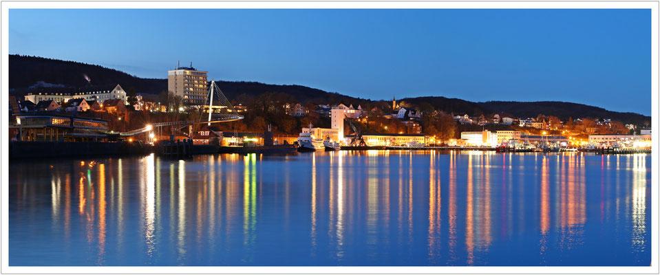 blaue Stunde in Sassnitz