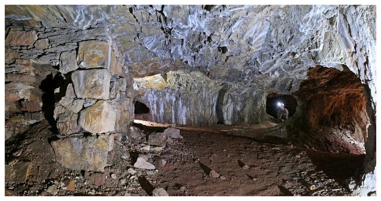 Kalkbergwerk im Elbtalschiefergebirge