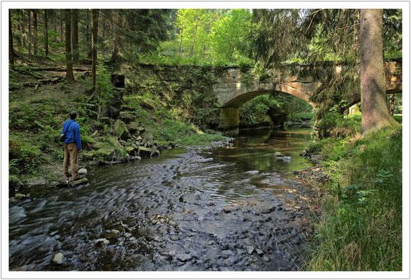 Das Aquädukt über den Kreibitzbach