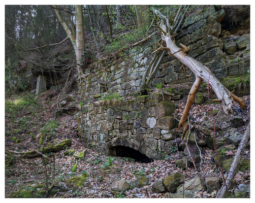 Reste der alten Waltersdorfer Mühle