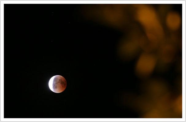 Und dann endete die Phase der Mondfinsternis