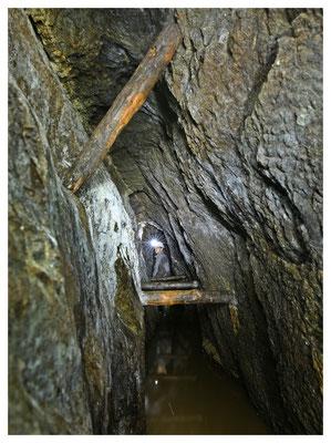 alte Silbermine im Erzgebirge