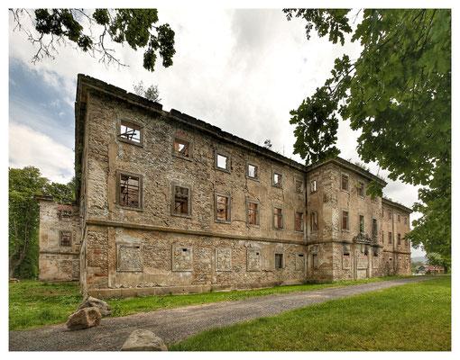 Schloss Hainspach war einst...