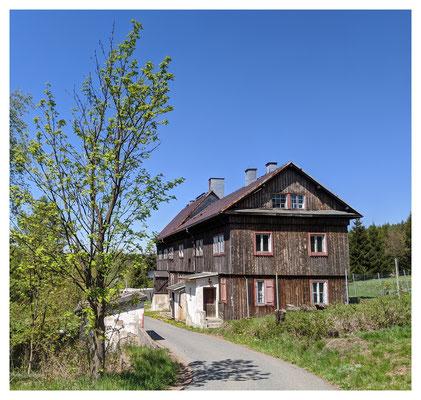 die alte Pels-Zinnwäsche in Zinnwald
