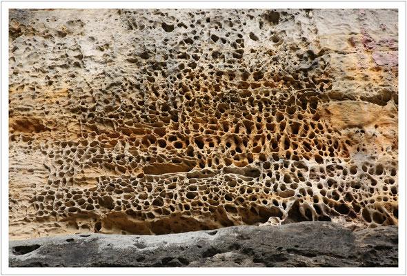 Lochformen im Sandstein