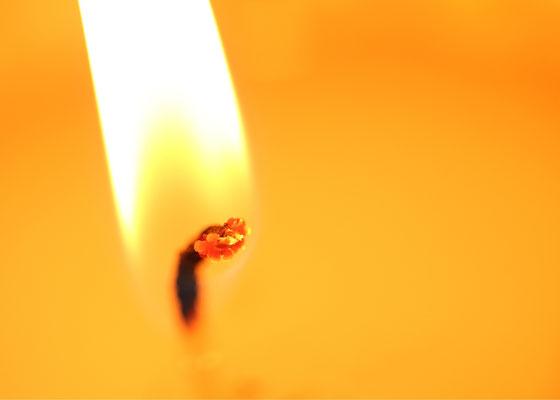 Bei einer Kerze ist nicht das Wachs wichtig, sondern das Licht.