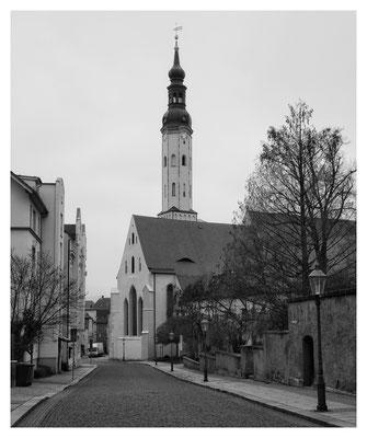 Klosterstraße mit Klosterkirche