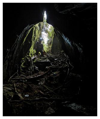 alte Zinngrube im böhmischen Erzgebirge