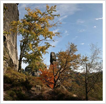der Herbst beginnt an der Heringsgrundnadel