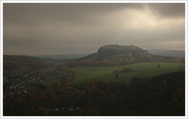 ein kleiner Lichblick am Pfaffenstein