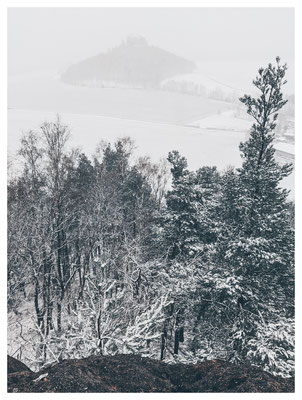 ...und Schneetreiben auf der Kaiserkrone