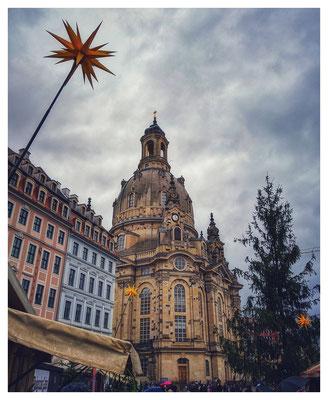 Weihnacht auf dem Dresdner Neumarkt...