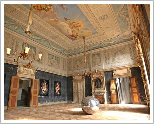 alter Feststaal im Schloss Wachau