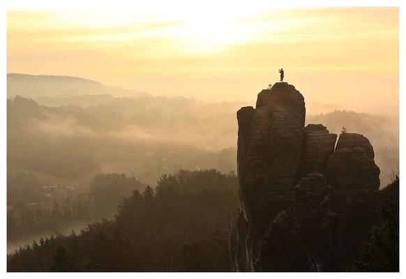 Sonnenaufgang am Mönch