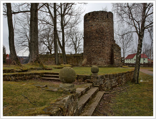 Ruine der ehem. Wasserburg Ruppendorf