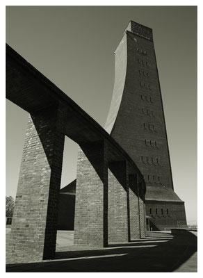 Das Ehrenmal Laboe, ein imposanter Bau...