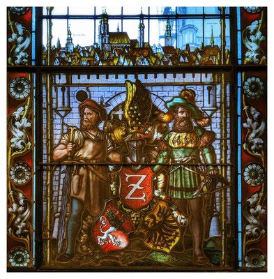 Bürgerstolz - Verglasung im Rathaus